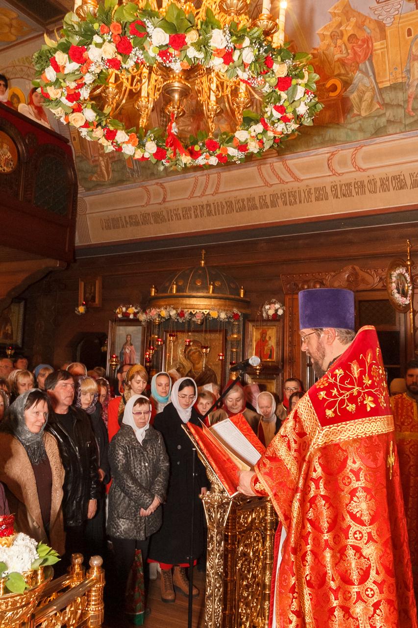 Чтение пасхального послания Святейшего Патриарха Кирилла