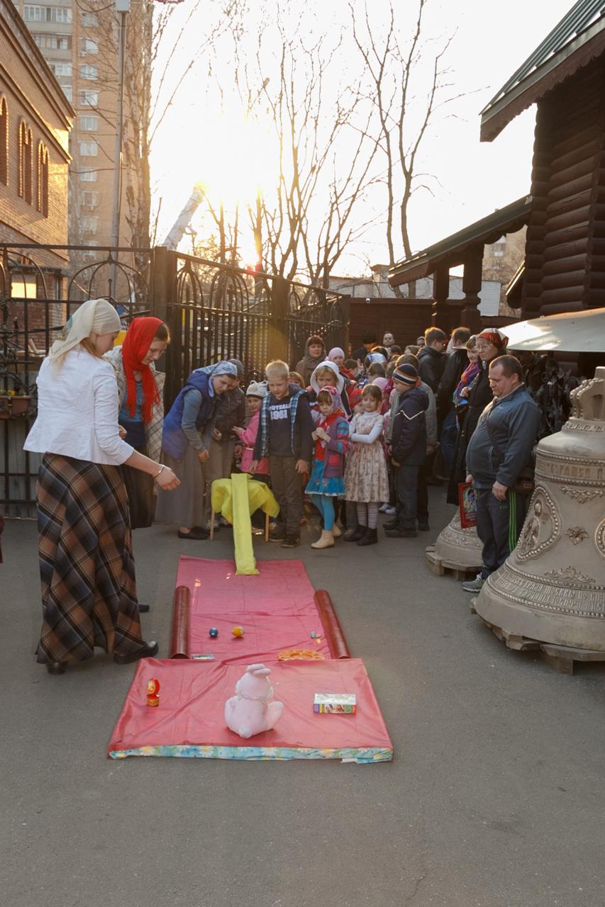 Пасхальный праздник: детские игры