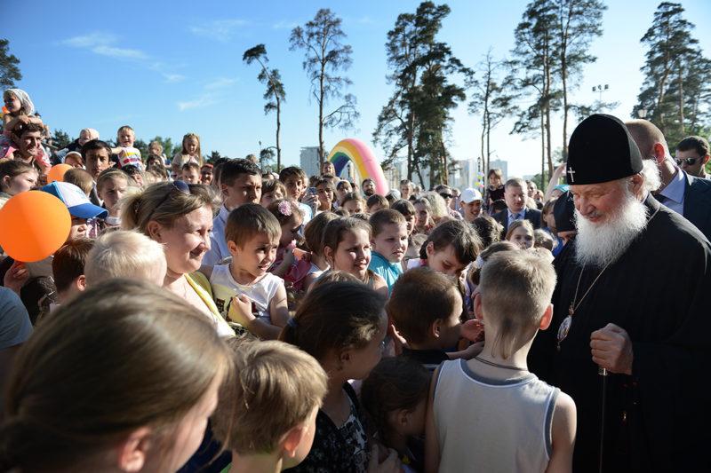 Фото Молодежного отдела Московской городской епархии